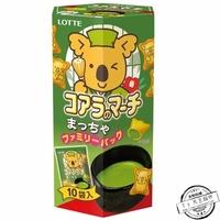 Lotte乐天小熊绿茶饼干 大