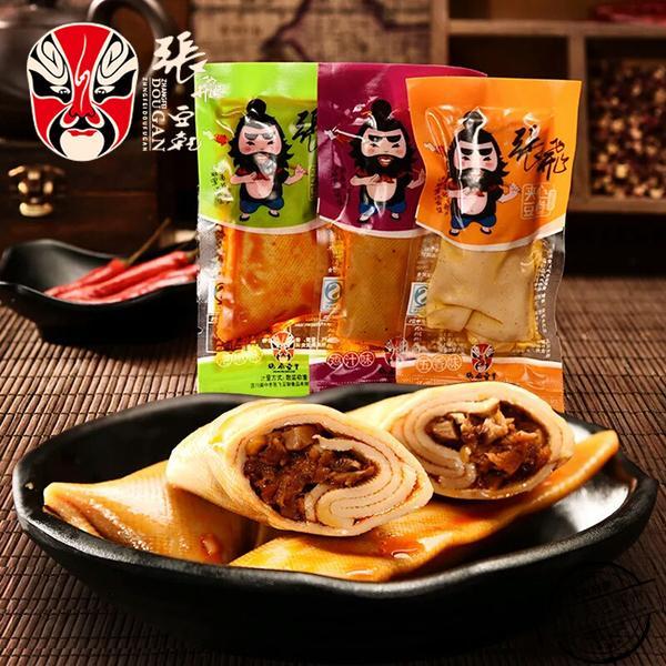 张飞卷芯豆卷(香辣味)