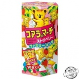 Lotte乐天小熊草莓饼干 大